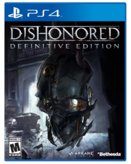 Gra Dishonored Definitive Edition PL (PS4)