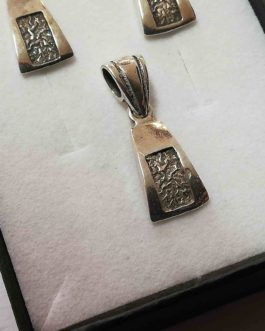 Komplet Srebrnej Biżuterii 925p