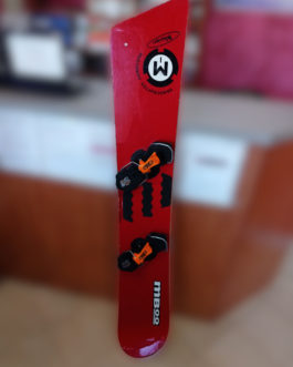 Snowboard Mboo 160cm  + wiązania step-in